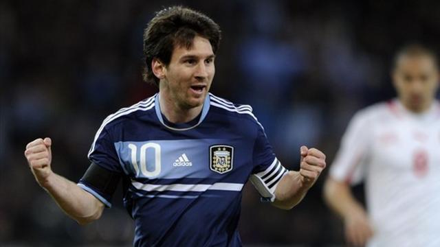Messi sauve l'Argentine