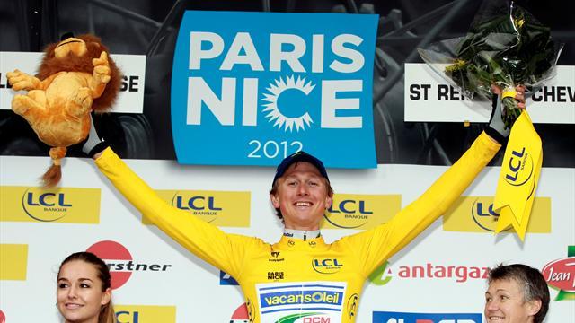Larsson pips Wiggins in Paris-Nice ITT