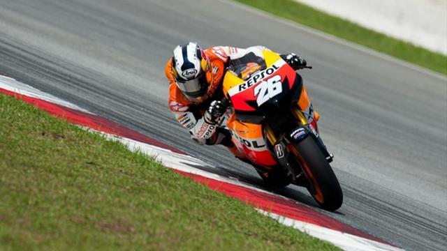 Pedrosa wins German MotoGP as Stoner crashes