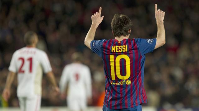 Messi, Messi, Messi, Messi, Messi