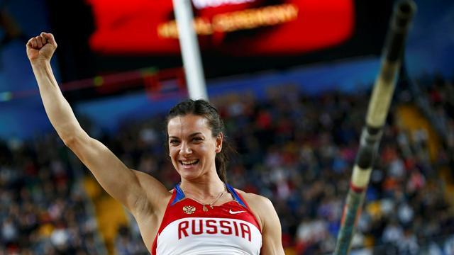Cuarto oro para Isinbayeva pero sin récord