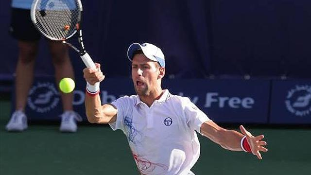 Djokovic breezes through