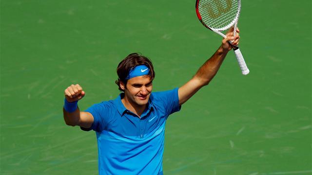 Federer en vrai maître