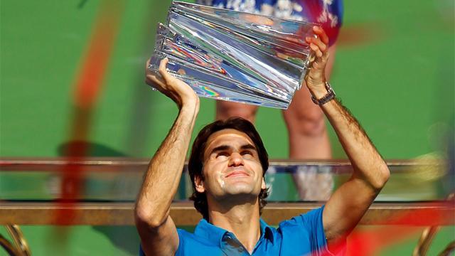 Federer sans prise de tête