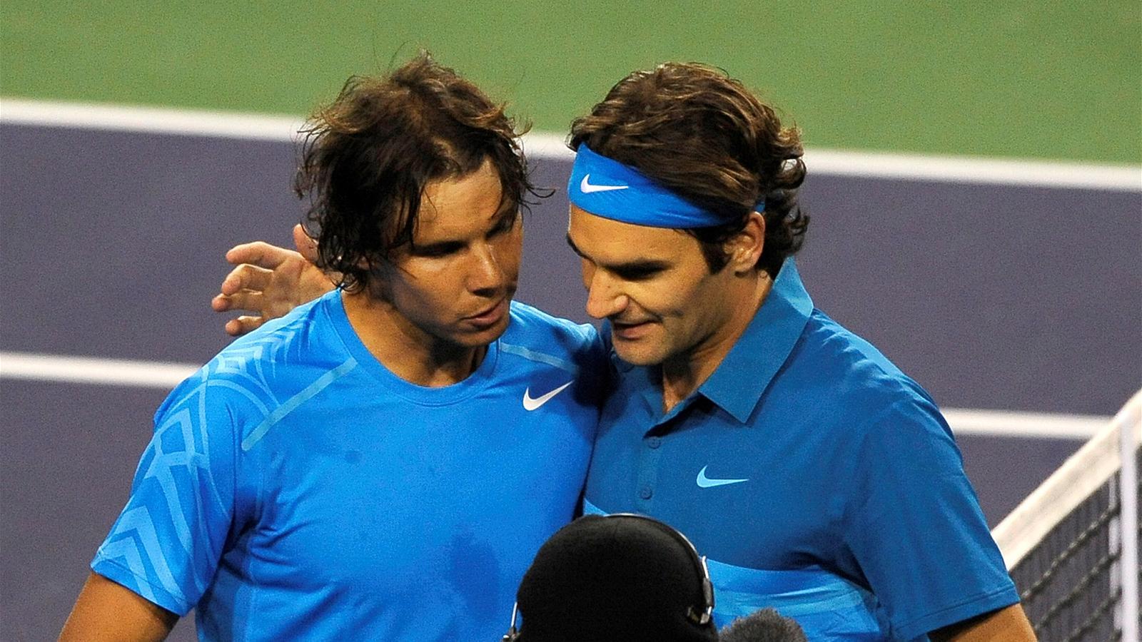 Федерер надаль смотреть онлайн 3 фотография