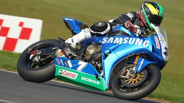 Laverty tops second practice at Knockhill