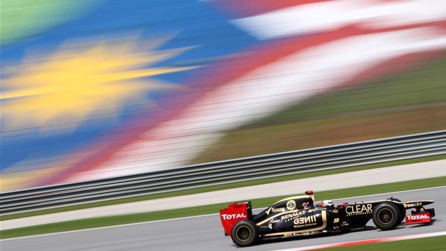 Räikkönen jouait la pole position