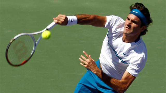 La série s'arrête là pour Federer