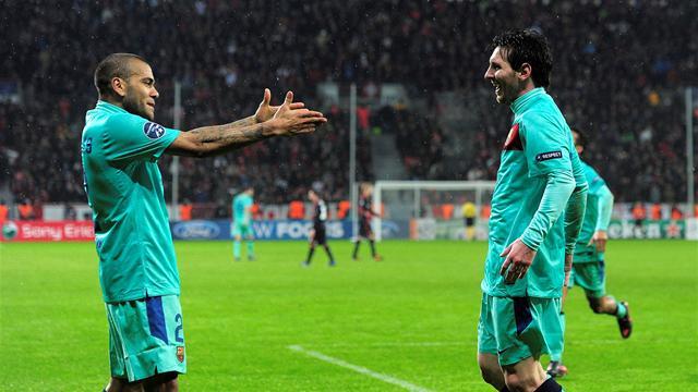 Messi, c'est Alves qu'il préfère