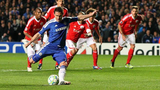 Chelsea 2-1 Benfica