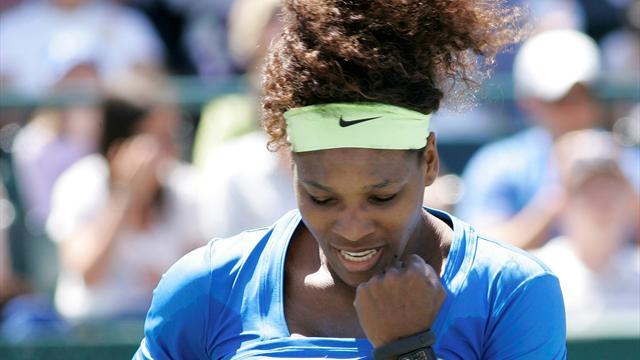 Serena slaughters Safarova