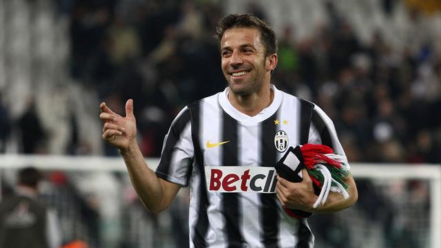 Del Piero 'expected' new Juventus deal