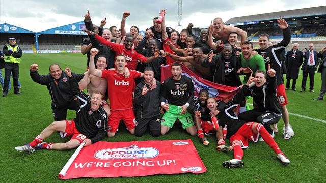 Charlton promoted to Championship