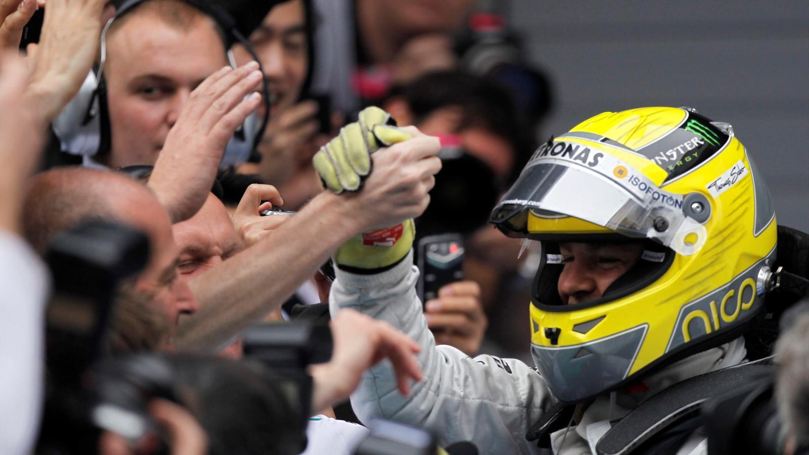 Rosberg s veille en chine grand prix de chine 2012 formule 1 eurosport - Formule vitesse de coupe ...