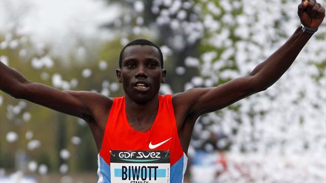 Biwott chez lui à Paris