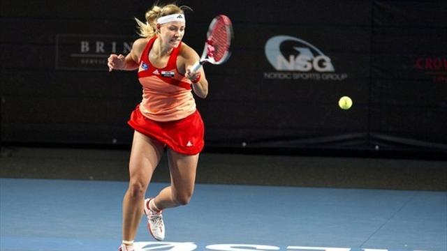 Kerber contrarie Wozniacki