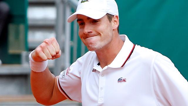 Isner to face Hewitt in Newport, Ferrer to play Almagro in Bastad
