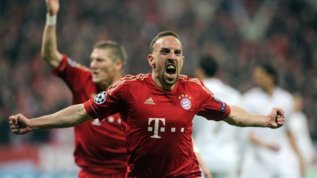 Ribéry, Galactique du Bayern