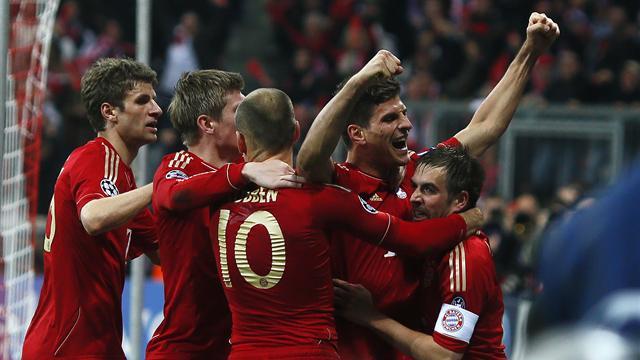 Gomez gives Bayern advantage over Real