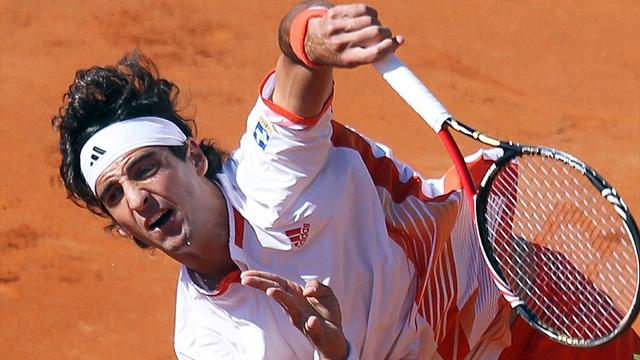 Bellucci upsets Tipsarevic to win Gstaad title