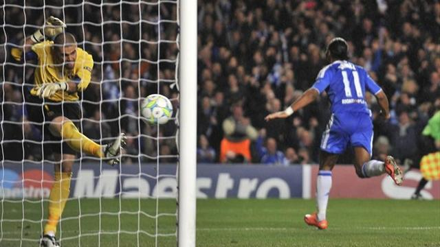 Valdés Drogba Barcelona Chelsea Champions