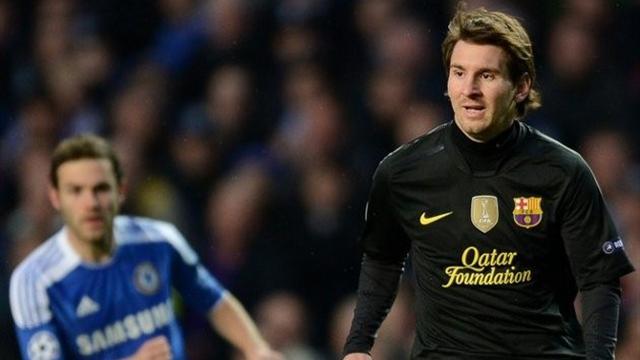 Lionel Messi Barcelona Chelsea Champions