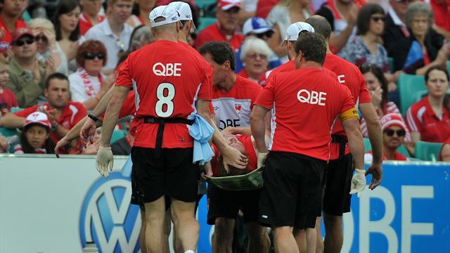 Swans Beat Kangaroos Australian Football Eurosport