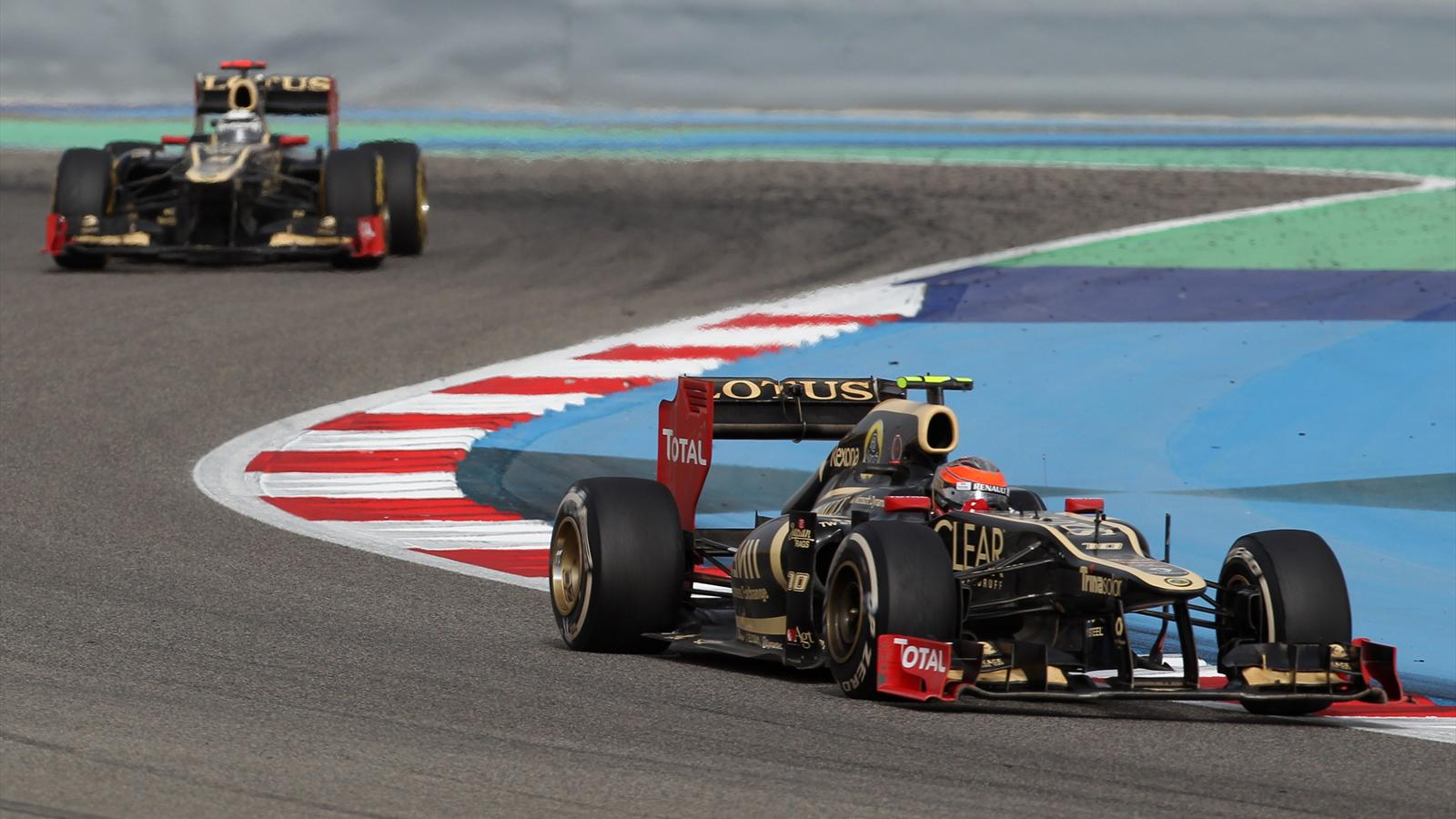 Lotus prend confiance grand prix de bahre n 2012 formule 1 eurosport - Formule vitesse de coupe ...
