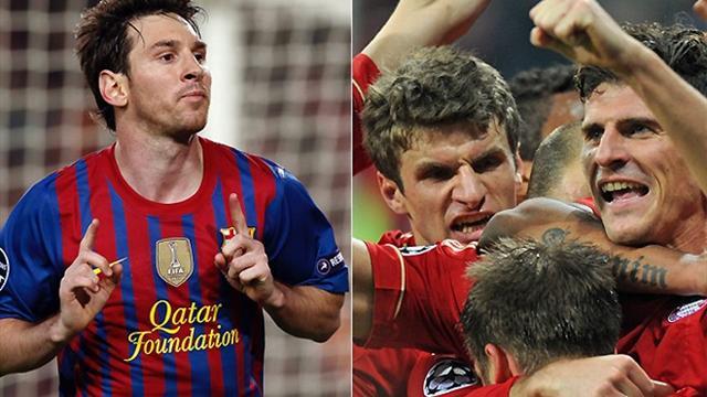 «Барселона» сыграет с «Баварией», «Реал» – с «Боруссией»