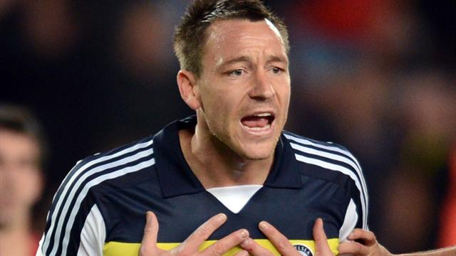 Terry says sorry for red card