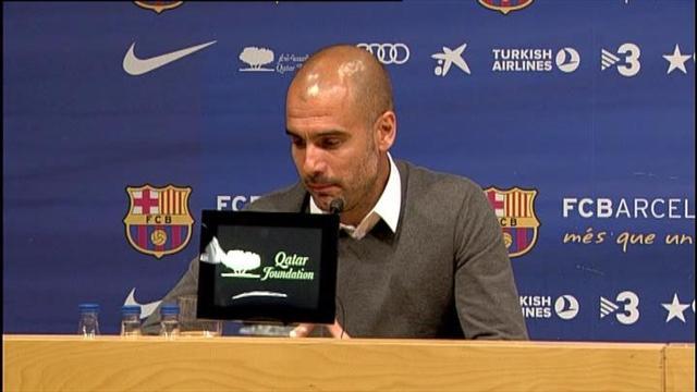 Guardiola leaves Barcelona