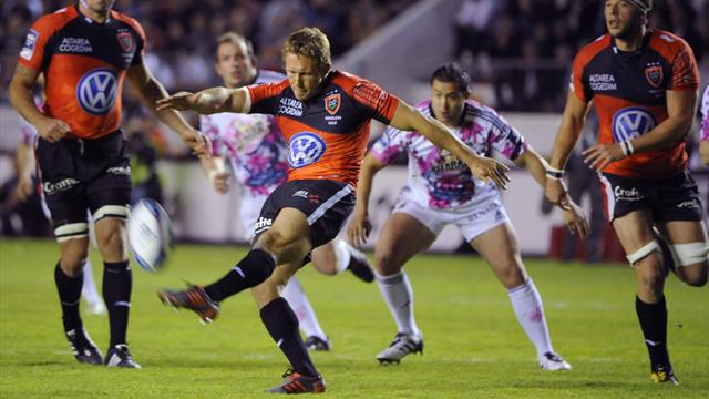 Wilkinson envoie Toulon en finale du Challenge