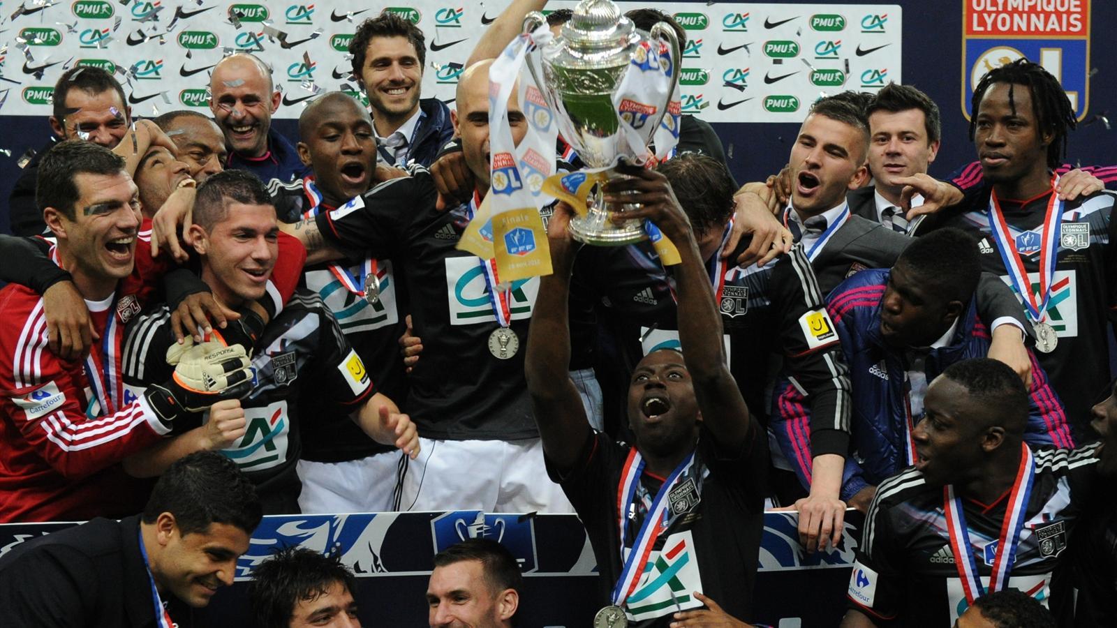 Lyon quatre ans de disette coupe de france 2011 2012 - Resultat foot feminin coupe de france ...