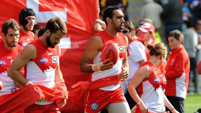 Goodes set to make Swans comeback