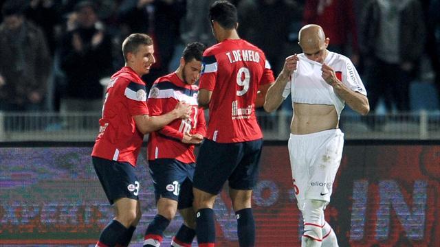 PSG slip up against Lille