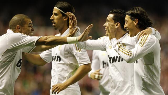 Le Real Madrid en champion