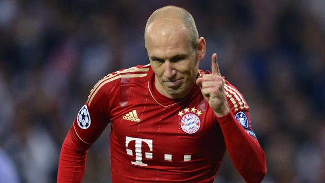 Robben: The 'match of a lifetime'
