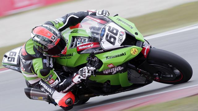 Sykes on World Superbike pole after smashing Aragon lap record