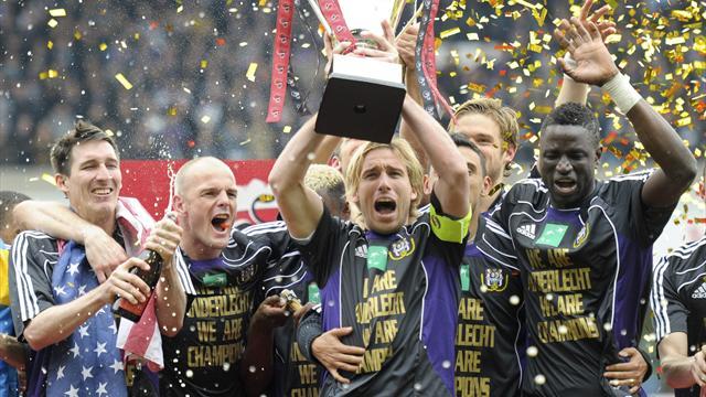 Last-gasp Anderlecht win title