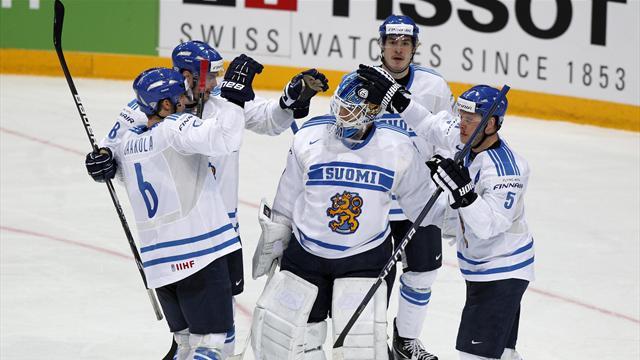 Finland eke out win over Slovakia