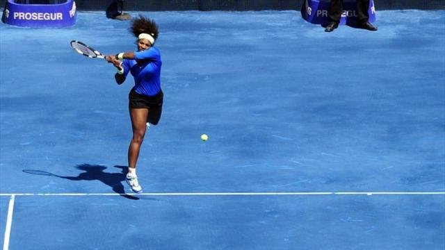 Serena fait le ménage