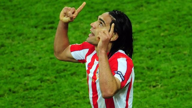 Atletico 'need top four spot to keep Falcao'