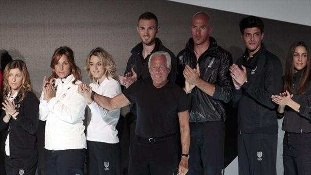 Giorgio Armani tervezte -Olimpiai Játékok