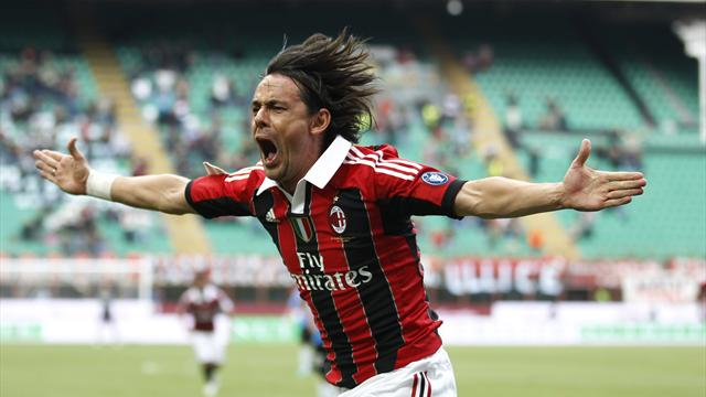 Inzaghi retires, stays at Milan as youth coach