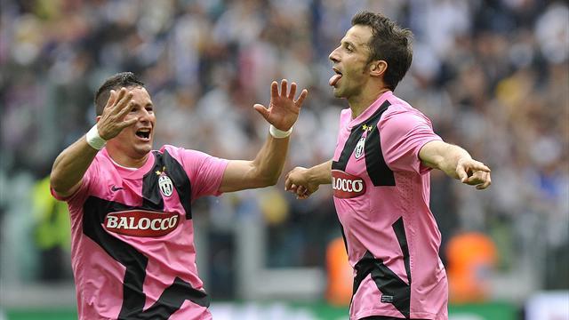 Del Piero helps Juve finish unbeaten