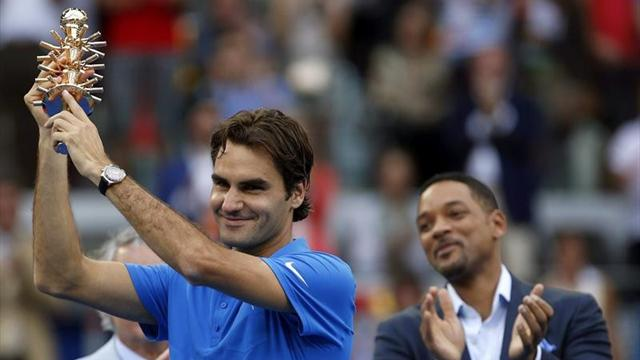 Federer claims third Madrid title