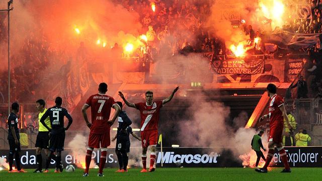 DFB confirms Hertha relegation