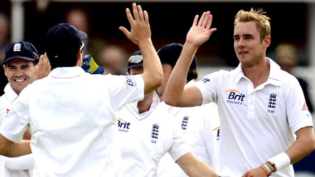 Broad up to third in rankings