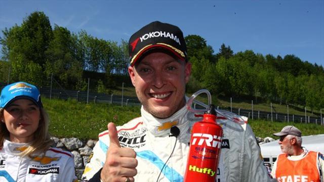 Huff races to Salzburg pole