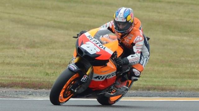 Pedrosa fastest again in Germany